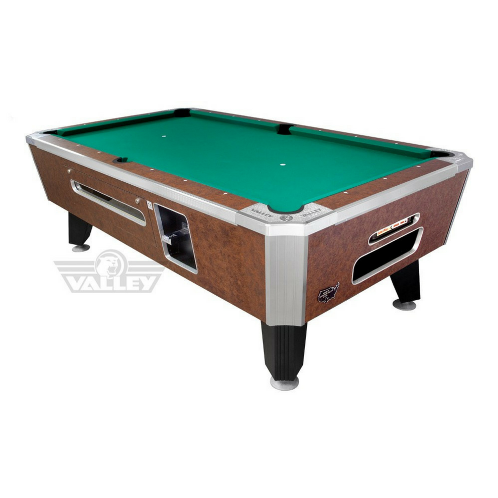 coin pool table panther coin operated pool table billiard. Black Bedroom Furniture Sets. Home Design Ideas